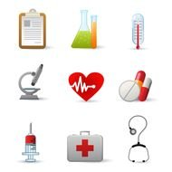 Different science signs clipart