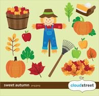 Autumn Crafts Picture drawing