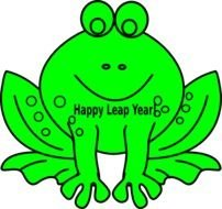 clipart of the green frog