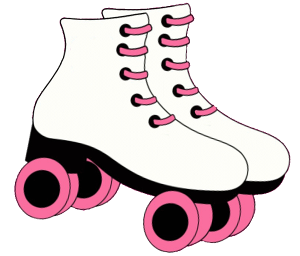 Pink Baby Shoes Roller Drawing Free Image