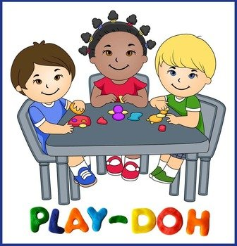Children are playing clipart