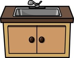 Kitchen Sink as picture for clipart