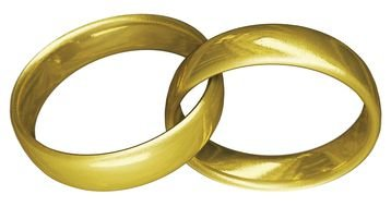 wedding rings as a picture for clipart