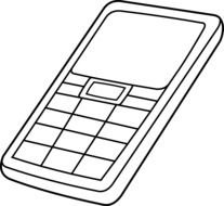 clipart of the Cell Phone