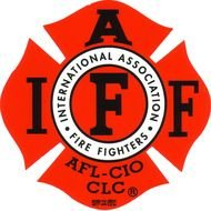 illustration of the international association of fire fighters logo