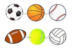 Cartoon Sports Balls Images At Pixy Org