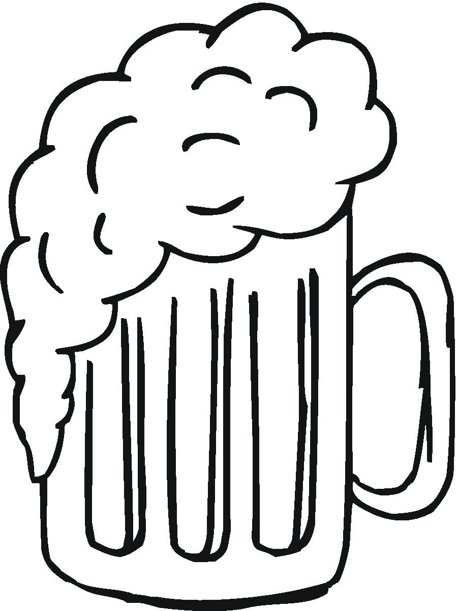 Clip Art Of The Beer Mug Free Image