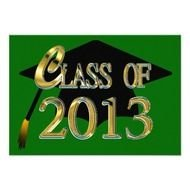 graduated class of 2013
