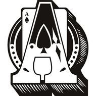 Playing Card symbol, Ace Of Spades