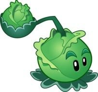 cartoon cabbage throws cabbage