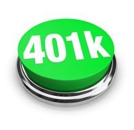 Clip art of 401k button sign
