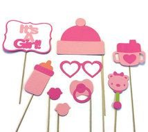 decorations with baby pink goods