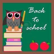 Back To School poster drawing