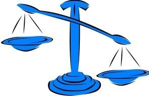 clipart of the Unbalanced Scales