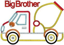 Colorful 'Big Brother' clipart