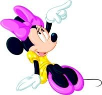clipart of the minnie mouse
