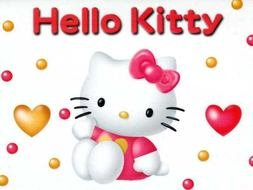 clipart of the hello kitty