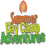 Summer Day Camp Logo drawing