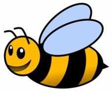 Honey Bees Coloring Pages clipart