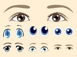 clip art with eyes