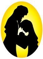 Nativity Silhouette drawing