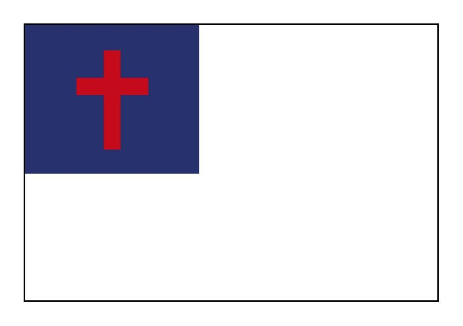 flag with red cross