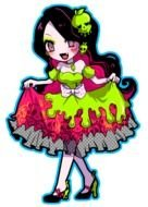 clipart of the Monster High character