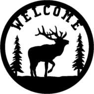 Elk Welcome Sign Powered By Cubecart
