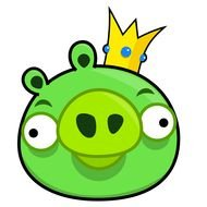 king pig from Angry birds