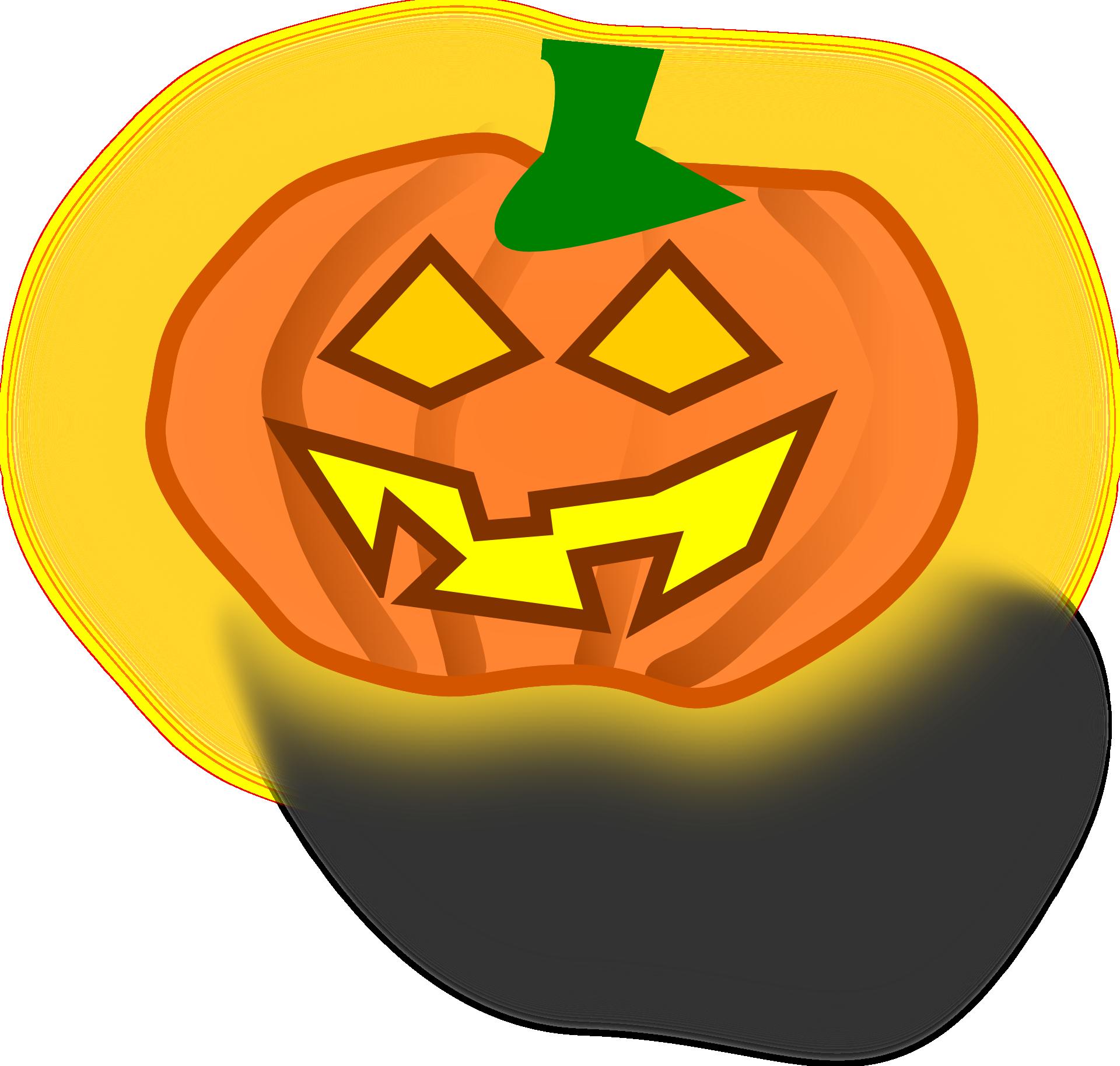 Drawing Of Halloween Jackolantern Free Image