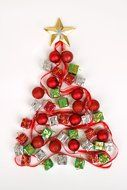 Beautiful Christmas tree decoration