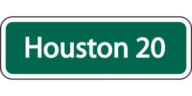 houston 20 sign drawing