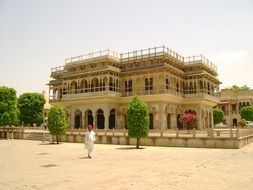 Beautiful Palace in jaipur, India