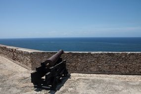 cannon at the fortress