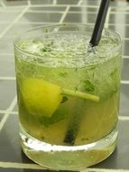 mojito drink cocktail