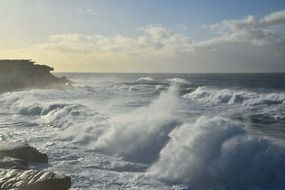 clovelly sydney australia ocean waves rocks
