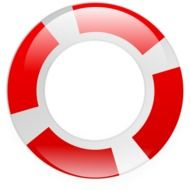 Clipart,picture of lifebuoy