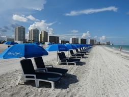beach tents chairs
