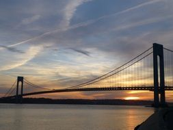 verrazano-narrows is a suspension bridge in new york