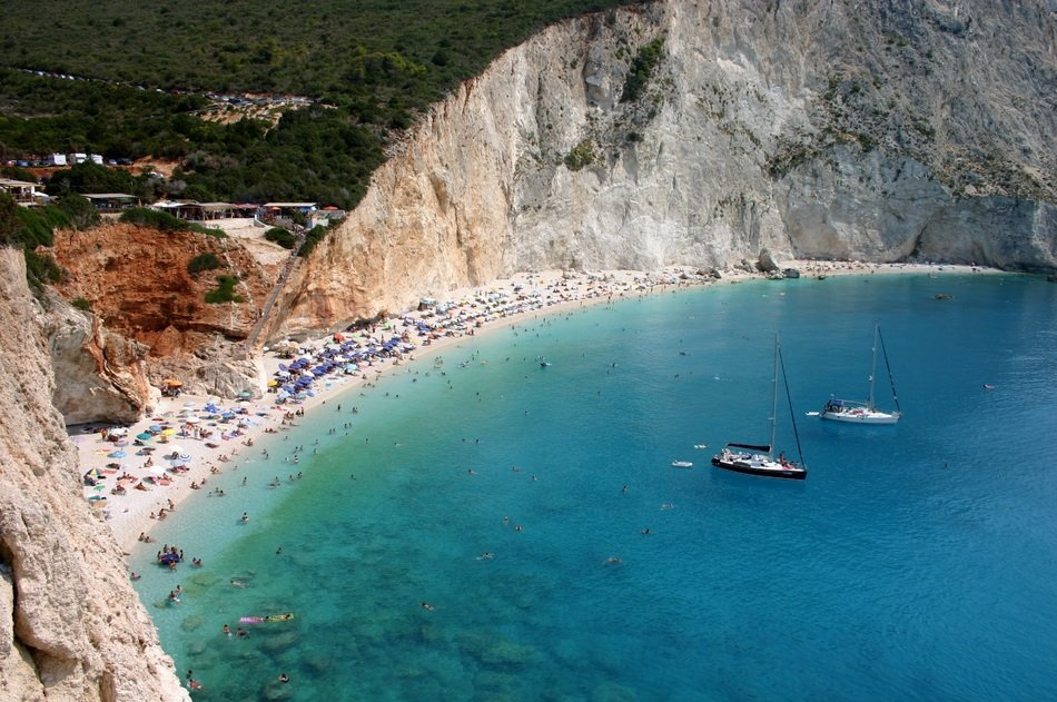 Beach of Lefkas