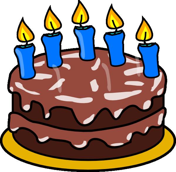 Birthday Cake Candles Drawing Free Image
