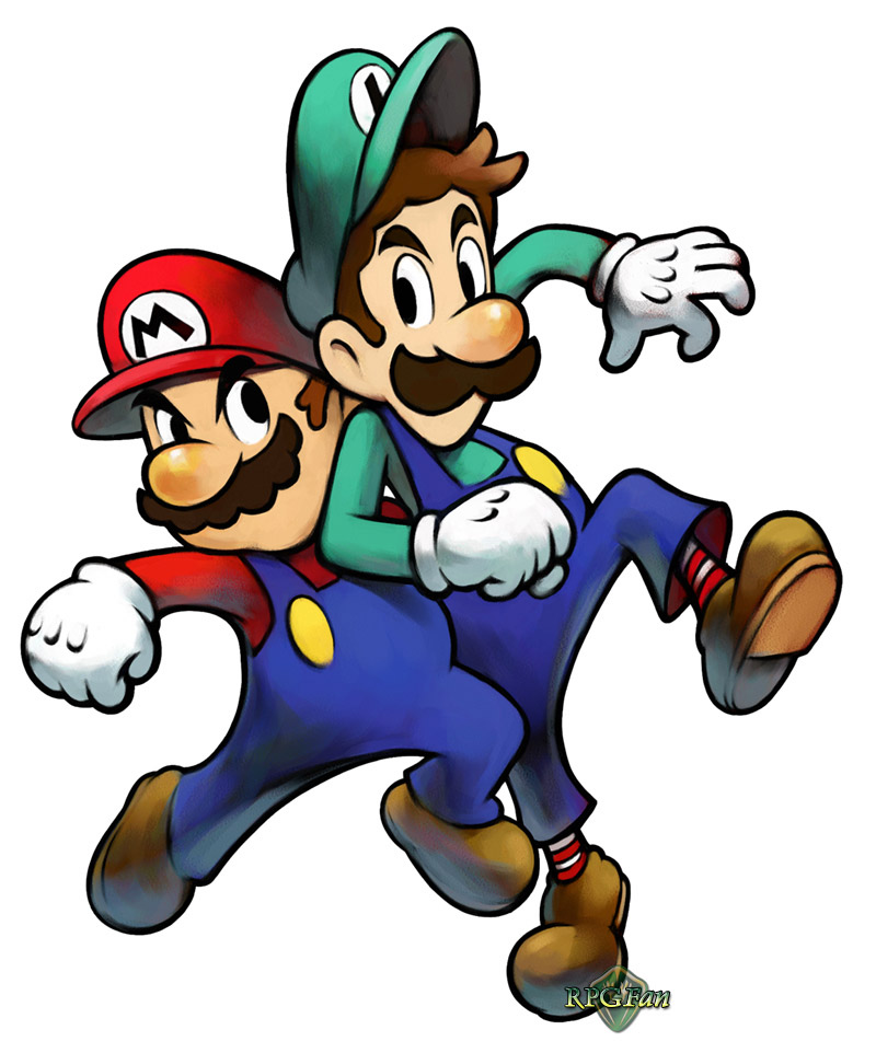 Rpgfan Pictures Mario Luigi Superstar Saga Artwork Free Image