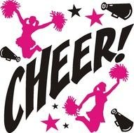 Cheer! as picture for clipart