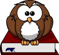 Cartoon Owl At Clkercom Vector Online Royalty clipart