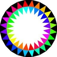 Rainbow Colors At Clkercom Vector Online Royalty clipart