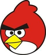 Angry Birds as a picture for clipart
