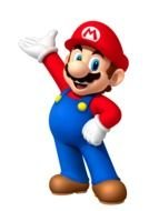 Mario, game character, render