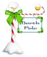 North Pole Sign Picture