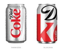 two cans of diet coca cola