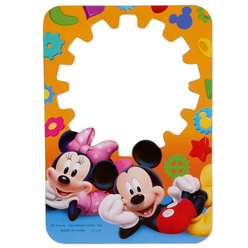 Mickey Mouse Clubhouse Printable Invitation Template Free Image